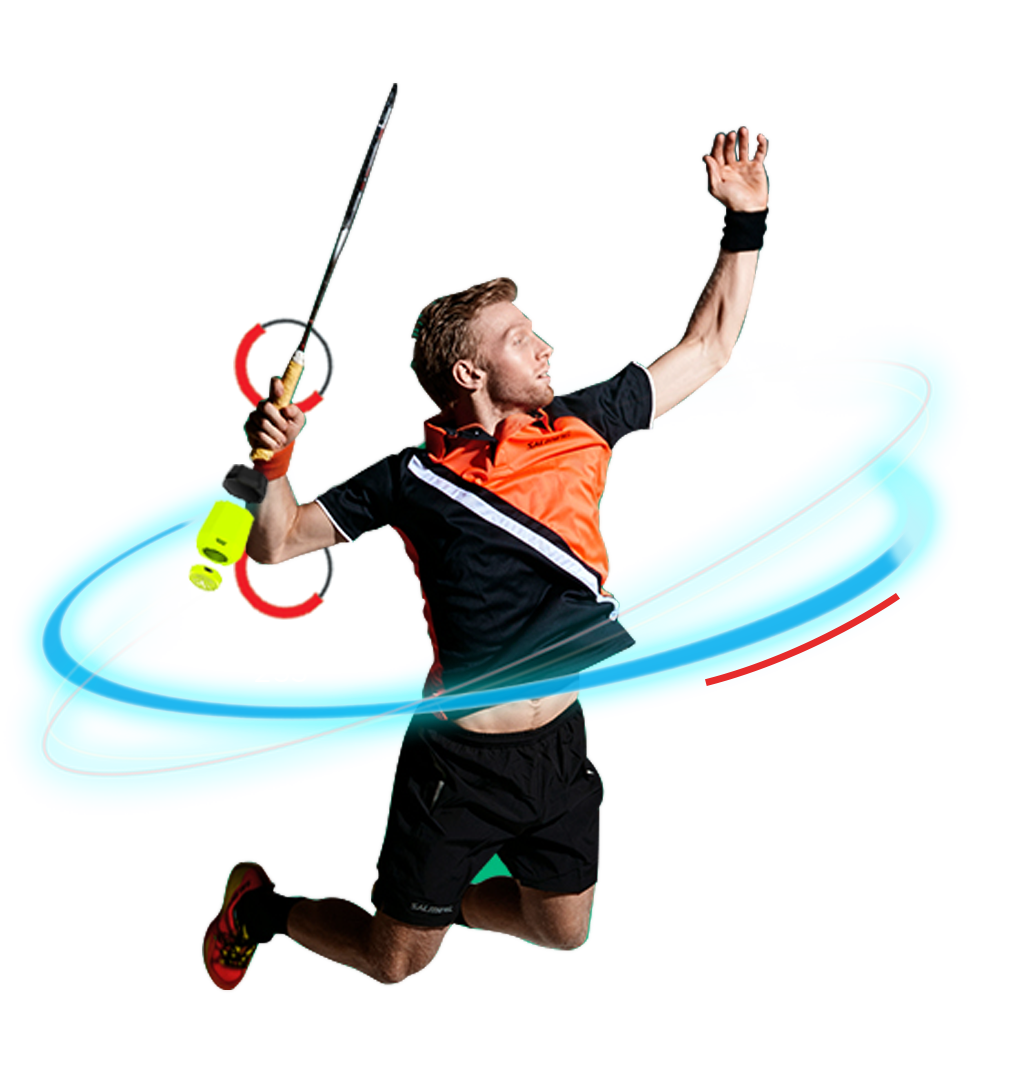 See You At The Olympics! – Solution Bar Badminton Player Png